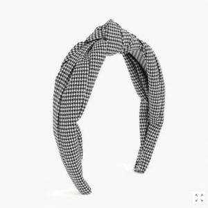 2 For 32⚡J.Crew Turban knot headband - Houndstooth